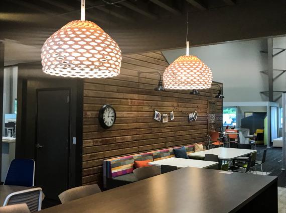work cafe breakroom