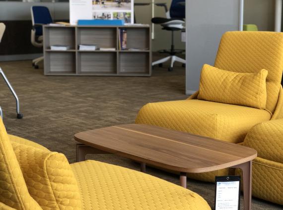 Coalesse hosu lounge seating