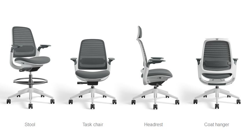 Steelcase Series 1 family of chair options