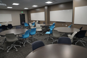 UND student classroom